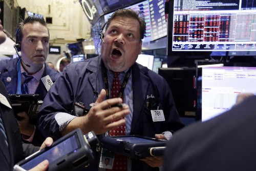 Wild Day for Global Stock Markets: Pictures