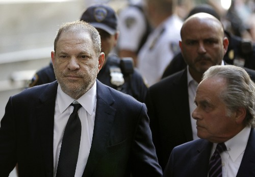 Harvey Weinstein accused of forcible sex act by a 3rd woman