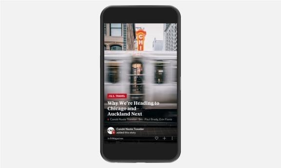 Flipboard highlights mobile-friendly sites with 'RED bolt' symbol and launches self-service tools for publishers