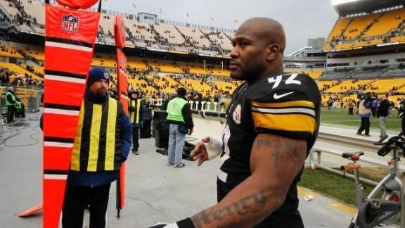 James Harrison signs with Steelers