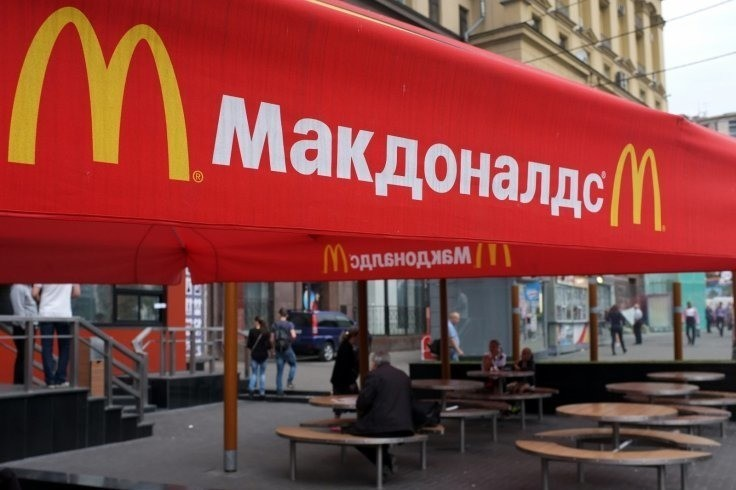McDonald's and Coca Cola are waging junk food war on Russia, claims government