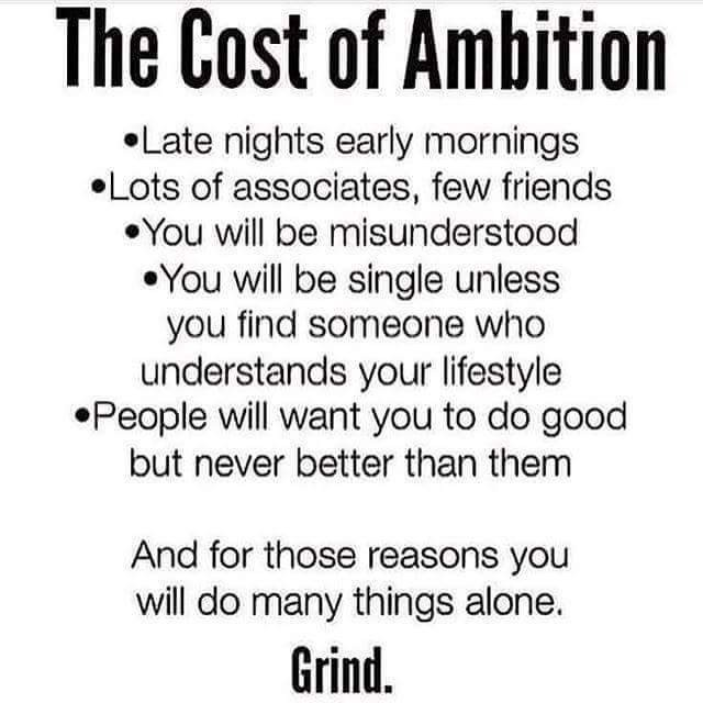 *YESSSS....* *#AMBITION < GO TO WORK!! (Make-It-Happen-Now)*