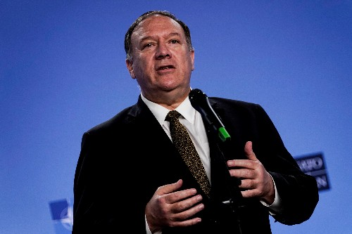 Pompeo says U.S. committed to Afghan peace after deadly explosions