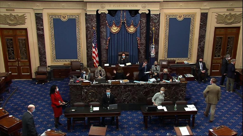 Senate votes to advance SCOTUS nominee Barrett