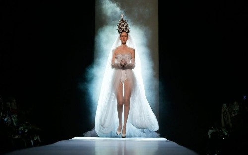 Here Comes The Couture Bride: Paris' Outrageous Wedding Dresses
