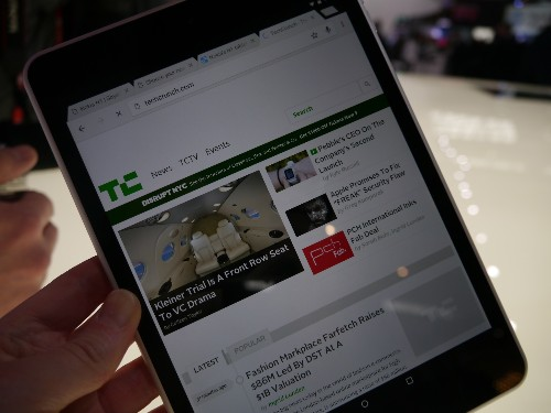 Nokia's N1 Tablet Looks Good For 'Designed In Finland, Built On Android' Strategy