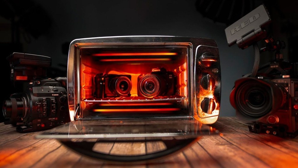 How Long Can These Cameras Last In An Oven?