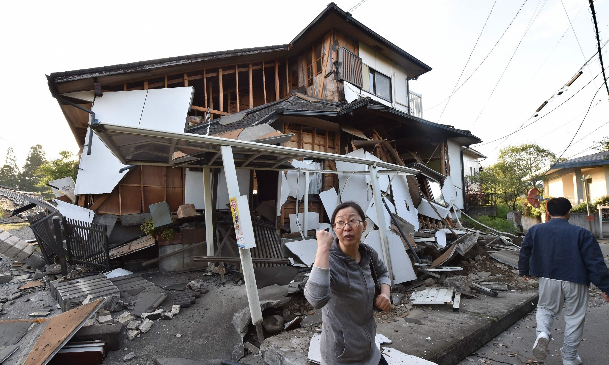 Japan hit by second powerful earthquake