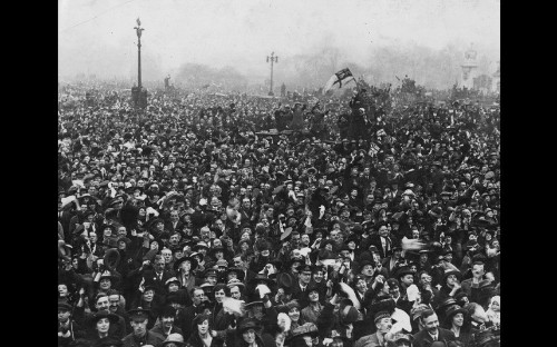 In pictures: acts of remembrance since 1918