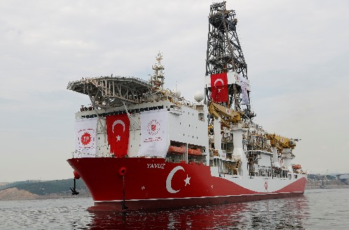 Turkey says EU funding cuts will not affect its drilling off Cyprus