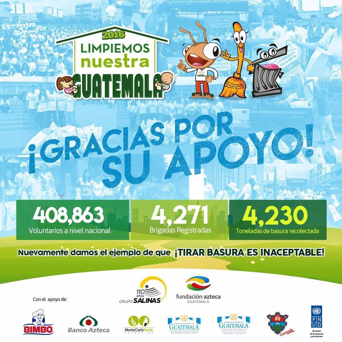 Limpiemos Nuestra Guatemala 2016