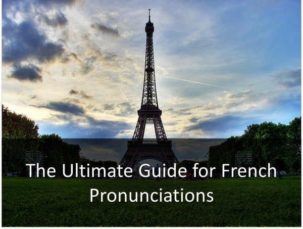French Pronunciation - cover