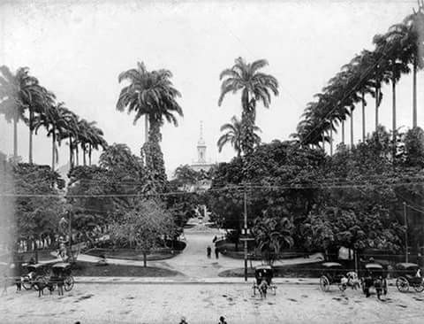 Largo do Machado, 1910.