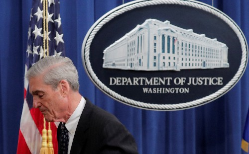 U.S. Justice Department tells Mueller to limit congressional testimony