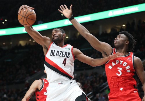 Eight Blazers hit double figures in downing Raptors