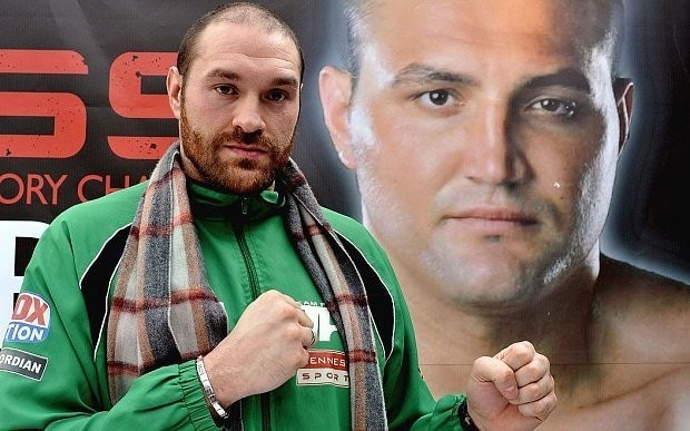 Tyson Fury fired up by the return of his father from prison