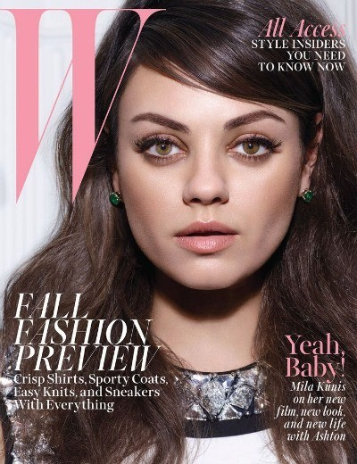 Mila Kunis Talks Weddings in the Newest Issue of W Magazine