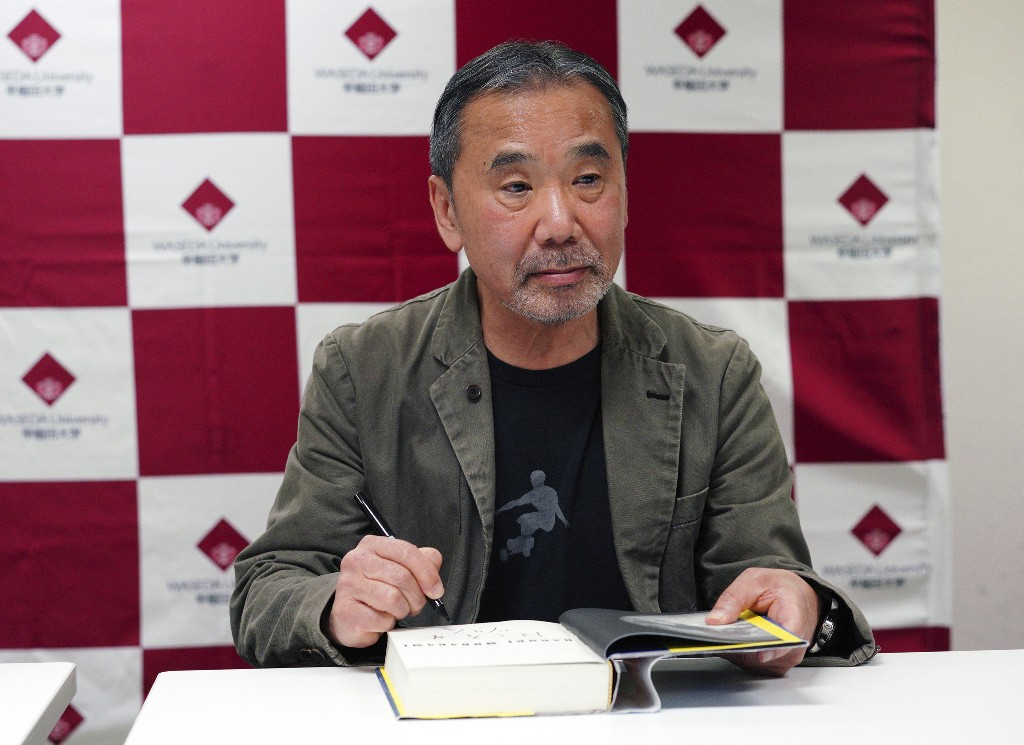 Author Murakami DJs 'Stay Home' radio show to lift spirits