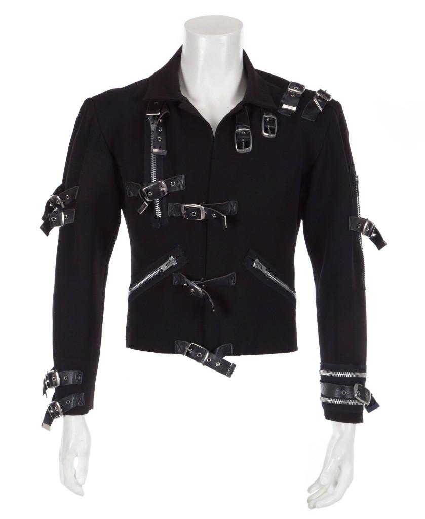 Michael Jackson's 'Bad' tour jacket sold at auction