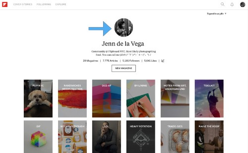 Why You Should Add an Avatar to Your Flipboard Profile and Write a Good Description