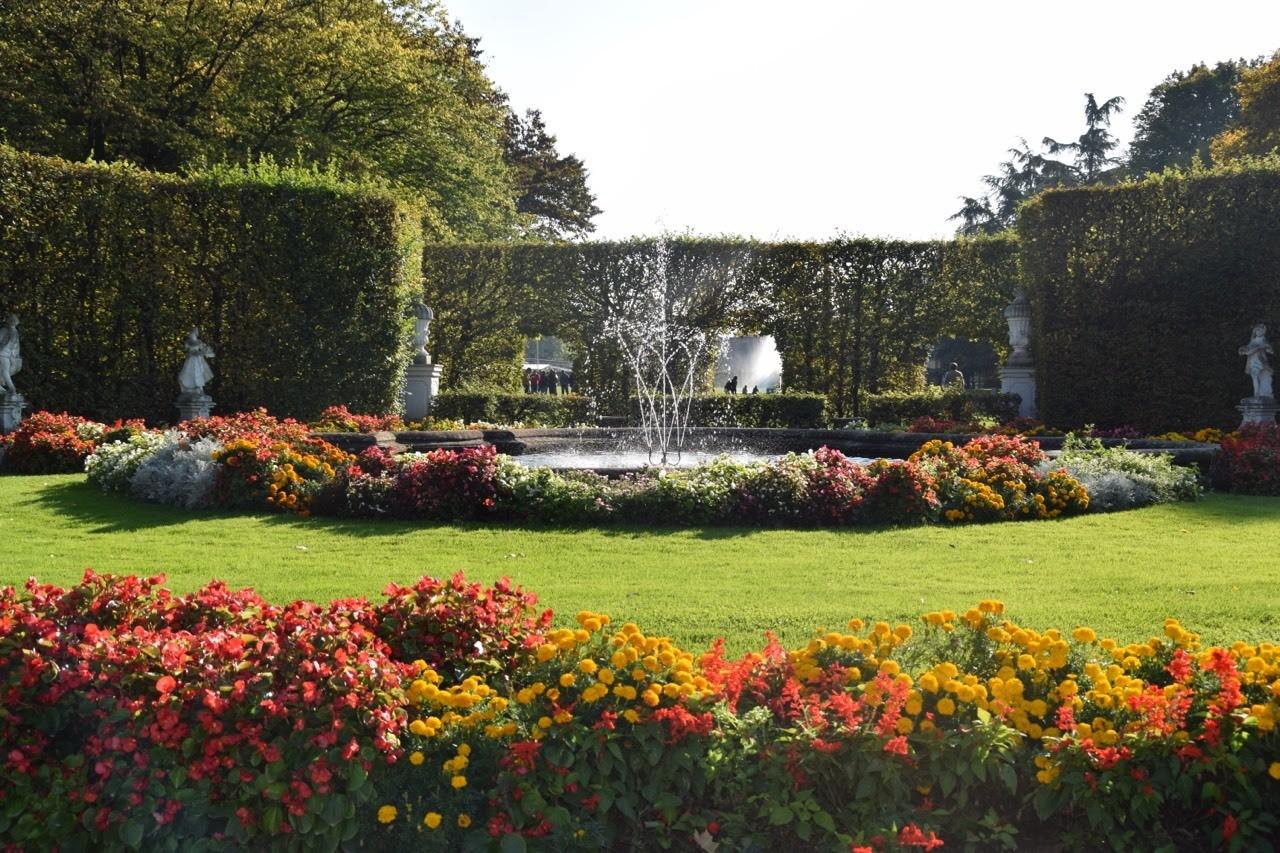 Herbst im Palastgarten