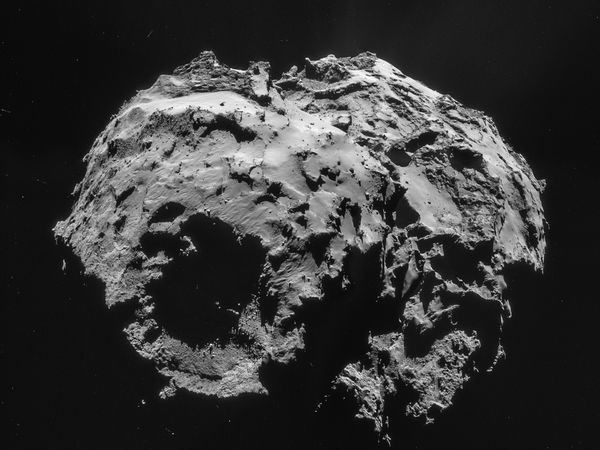 Rosetta Spacecraft Suggests Asteroids, Not Comets, Birthed Earth's Oceans