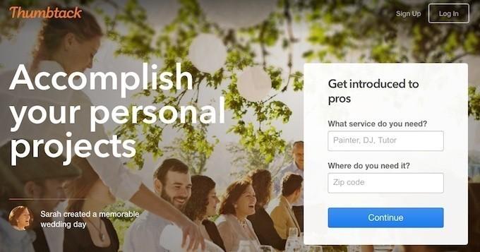 Service Marketplace Thumbtack Raises $100M Round Led By Google Capital
