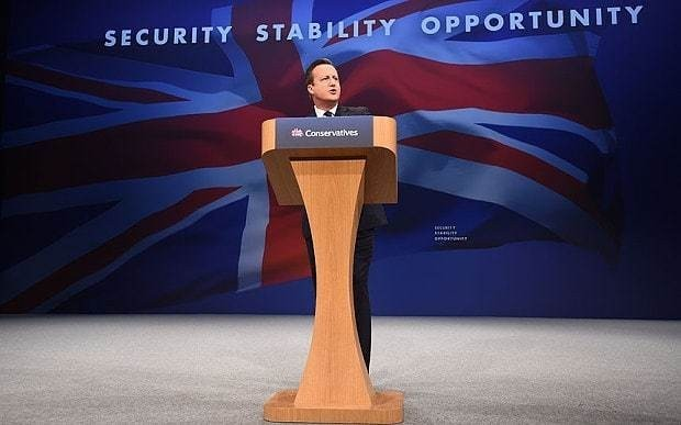 David Cameron is the new leader of the British Left