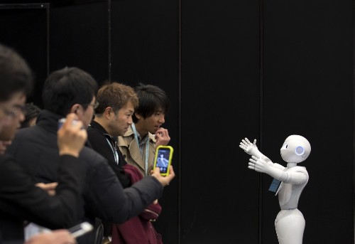 The Latest in Robots from SoftBank: Pictures