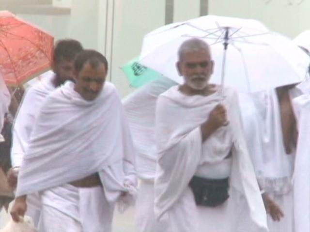 The Hajj: Thinner crowds and lots of rain - CNN.com