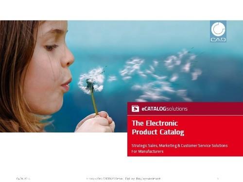 Electronic Catalog By CADENAS.de cover image