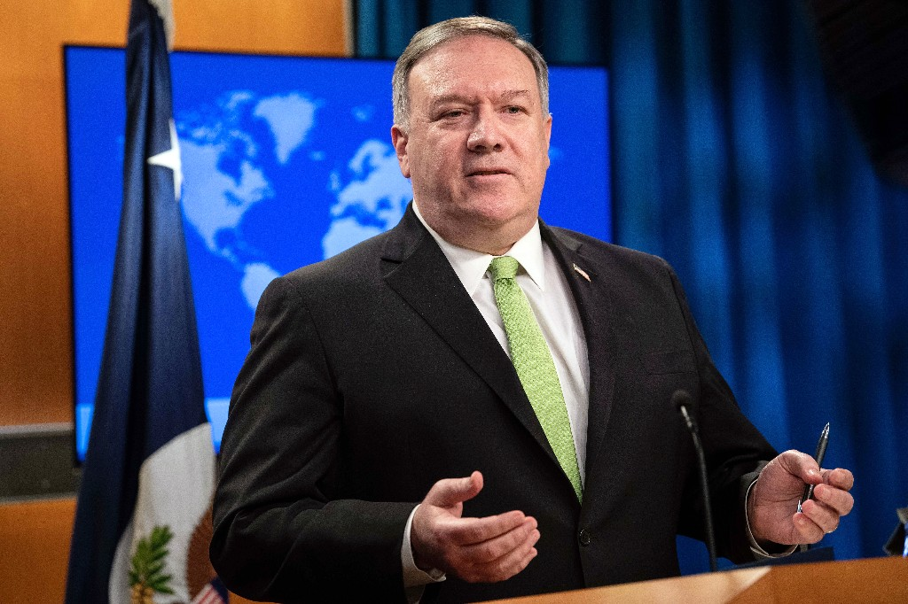 Pompeo: China measure a 'death knell' for Hong Kong autonomy
