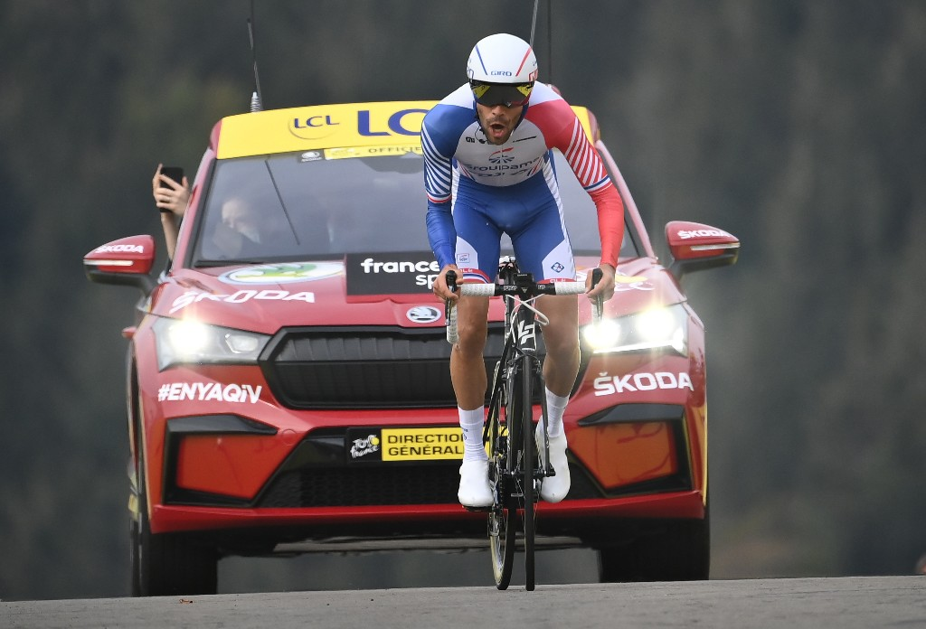 Cycling: Pinot abandons Vuelta before stage three