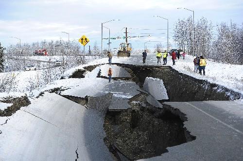 Scientists revise magnitude of recent Alaska earthquake