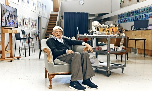 David Hockney: 'When I'm working, I feel like Picasso, I feel I'm 30'
