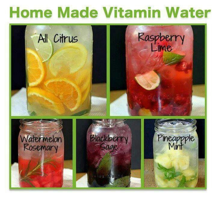 Home Made Vitamin Water Is Easy To Make