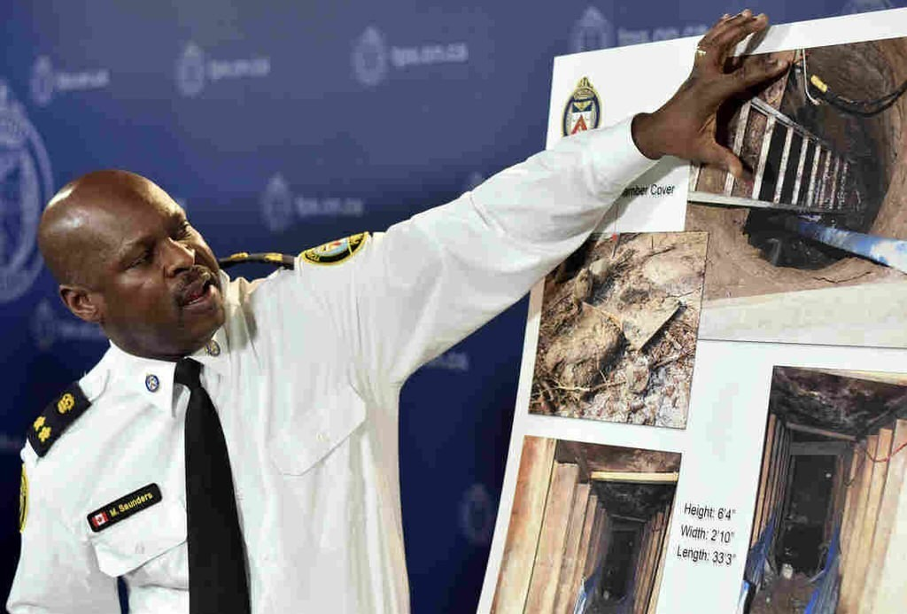 Toronto Police Try To Uncover Riddle Of Mystery Tunnel