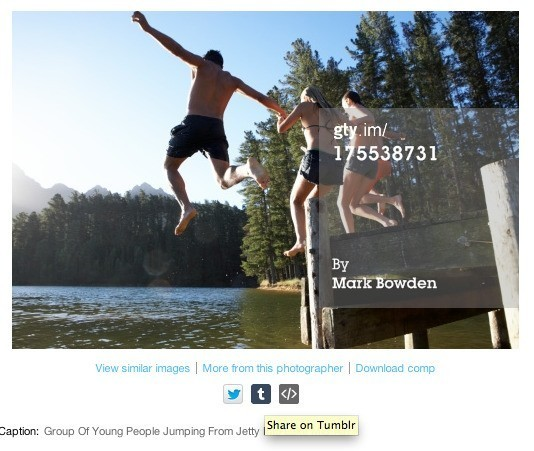 Getty Images Jumps Into The Age Of Social Media With A Free Embed Tool For Its Photo Library