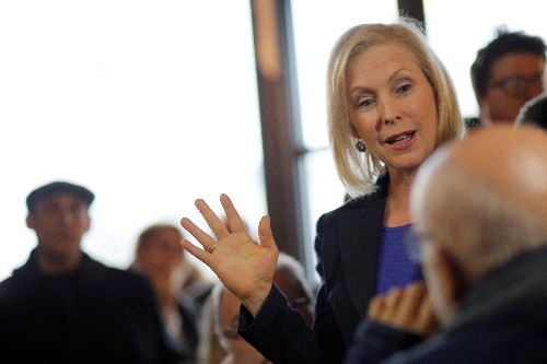 Senator Gillibrand formally launches presidential campaign