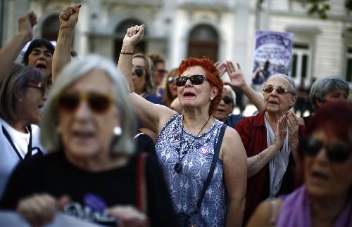 Spain's top court convicts 5 men in gang rape case