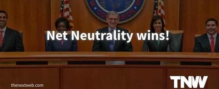 Net Neutrality wins! FCC votes to reclassify ISPs as Title II utilities