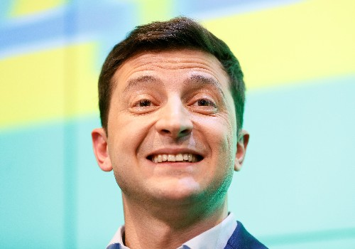 UK's May assures Ukraine's new president of continued support