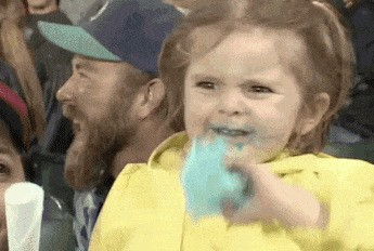 Greatest image ever....the joys of cotton candy.