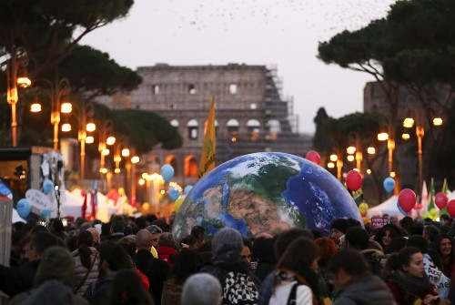 Global Rally for Climate Change: Pictures