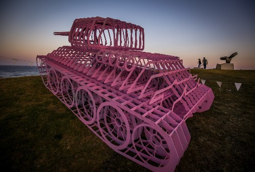 Sculpture By The Sea at Bondi Beach in Pictures