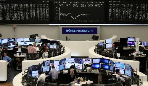 Европейские акции достигли двухнедельного пика за счет надежд на сделку о Brexit