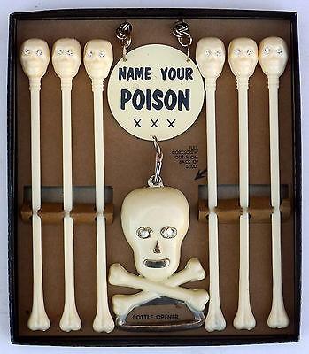 Name Your Poison: Vintage Novelty Swizzle Sticks