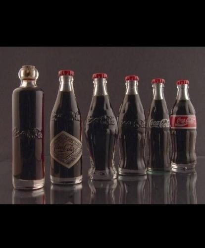 violAlex 🔴 Coca Cola bottle history 1899-1900-1915-1916-1957-1986