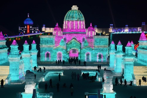 The Harbin Ice and Snow World: Pictures