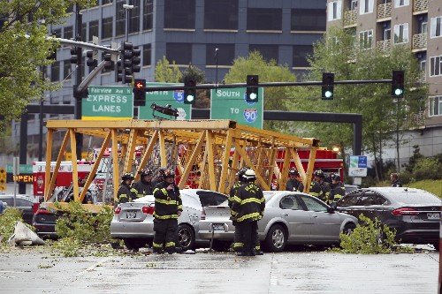 Latest: Mayor: 2 who died when crane fell were ironworkers